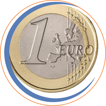 Up to 1 Euro